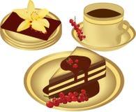 десерт иллюстрация вектора