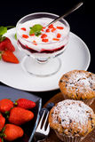 Десерт Стоковые Изображения
