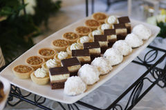 десерт assortment3 Стоковая Фотография RF
