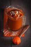 Десерт creme тыквы стоковое фото rf
