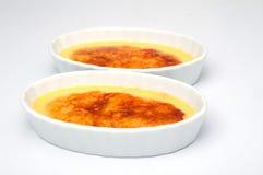 Десерт flan карамельки 2 Стоковое Изображение