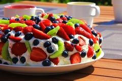 Десерт Pavlova Стоковое Изображение