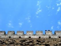 детализирует Великую Китайскую Стену Стоковые Фотографии RF
