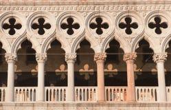 детализирует дворец s venice Италии doge Стоковая Фотография
