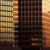детализирует небоскреб фасада стоковое фото rf
