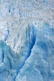 детализируйте ледник, Лос Glacieres, национальный парк, Аргентину стоковое фото