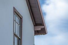 Детализируйте типичный дом, в Viseu, Португалия стоковые фотографии rf