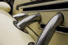 детали античного автомобиля Стоковые Фотографии RF
