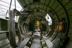 Детали внутренности воздушное судно Вторая мировой войны Стоковое Изображение