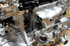 Детали двигателя автомобиля стоковое изображение