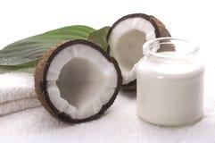 детали кокосов ванны Стоковые Изображения