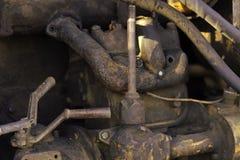Детали машинного оборудования металла стоковое изображение rf
