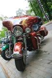 Детали мотоцикла motorcyclists стоковые фотографии rf