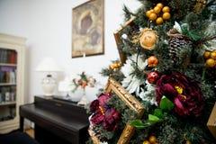 Детали от рождественской елки Стоковая Фотография