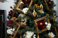 Детали от рождественской елки Стоковое Фото