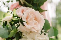 Детали оформления свадьбы для церемонии стоковая фотография rf