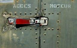 детали покинутых воздушных судн Стоковые Изображения