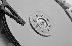 Детали привода компьютера жёсткия диска внутренние Стоковое Изображение