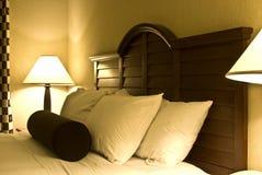 детали спальни Стоковое Фото