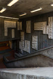 Детали станции метро внутренние в Сан-Франциско Стоковое Изображение RF