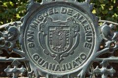 Детали стенда литого железа в Мексике Стоковое Фото