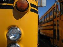 Детали школьного автобуса Стоковые Фото