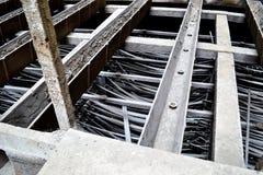 Детали электрической станции стоковое фото rf