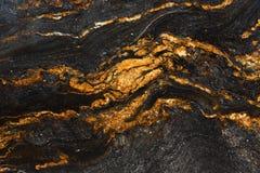 Детальная безшовная красная мраморная каменная текстура Стоковая Фотография RF