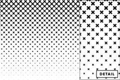 Детальное полутоновое изображение вектора для предпосылок и дизайнов бесплатная иллюстрация