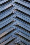 Детальный крупный план поверхности резиновой автошины Стоковые Изображения RF