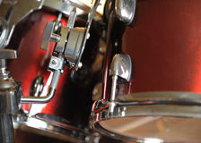 детальный набор барабанчика Стоковое Фото