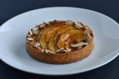 Детальный пирог циннамона Яблока Стоковая Фотография RF