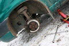деталь автомобиля Стоковая Фотография