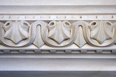 Деталь архитектурноакустического орнамента Стоковые Изображения RF