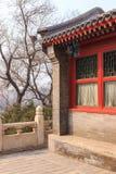 Деталь архитектуры традиционного китайския Стоковое фото RF