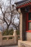 Деталь архитектуры традиционного китайския Стоковое Изображение RF