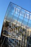 Деталь архитектуры учреждения Louis Vuitton откровенным Gehry стоковое изображение