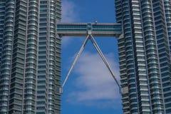 Деталь башен Petronas стоковое фото rf