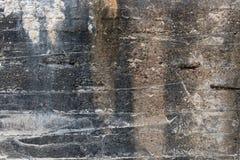 Деталь бетонного оборонительного сооружения как предпосылка Стоковые Изображения RF