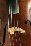 деталь виолончели Стоковое Изображение
