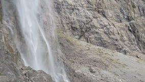 Деталь водопада видеоматериал