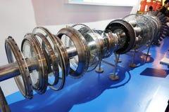 Деталь двигателя аэроплана стоковое изображение