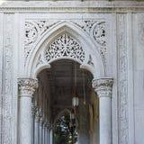 Деталь дворца Monserrate архитектурноакустическая Стоковое Изображение RF