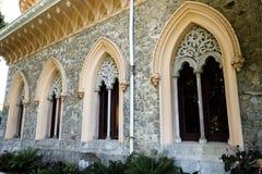 Деталь дворца Monserrate архитектурноакустическая Стоковое Изображение