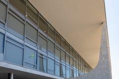 Деталь дворца Planalto - Brasilia, Distrito федерального, Бразилии стоковое фото