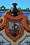 Деталь дворца Raichle, Subotica, Сербии Стоковое Фото