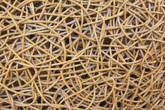 Деталь деревянного weave архитектурноакустическая Стоковое Изображение RF