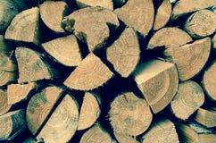 Деталь деревянных журналов Справочная информация Стоковые Фото