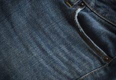 деталь джинсовой ткани Стоковое Изображение RF