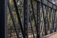 Деталь железного моста Стоковая Фотография RF